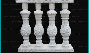 نرده سیمانی (صراحی) سنگی مدل رومی
